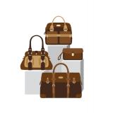 Skandia - väskorna symboliserar olika sparformer