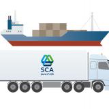 Detalj ur SCA kretslopp - transport