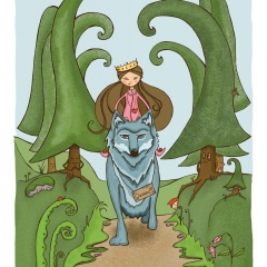 Här kommer drottning Madeline