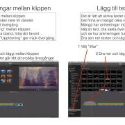 Reigera film med iMovie för mac