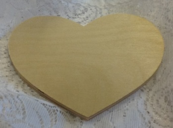 Nr 21 Hjärta 10,5x10 cm