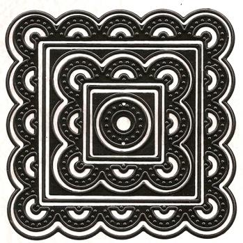 Dies square stitching Nellie Snellen Multi Frame Die -