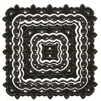 NS - Nellies Multi Frame Die - Square Lilly -