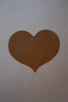 Klisterhjärta i natur 10-pack -