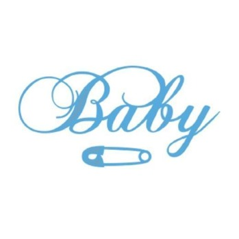 MD Creatable Baby Text LR0217 -