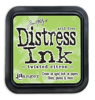 Distress Ink Pad Twisted Citron -