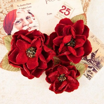 PRIMA MARKETING A VICTORIAN CHRISTMAS - PEACE & HOLLY -