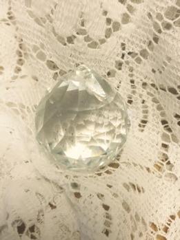 Kristall kula 4 cm -