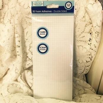 Häftkuddar, 940st, 5x5 mm, 2 mm höga -
