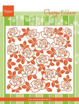 MARIANNE DESIGN DESIGN FOLDER: ROSES ARTIKELNUMMER: DF3423 -