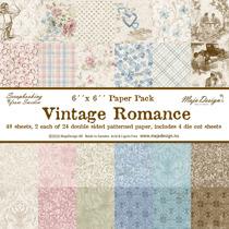 Vintage Romance - Paper stack 6x6