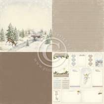 By the river - Glistening Season - 6x6