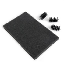 SIZZIX SIZZIX REPLACEMENT DIE BRUSH HEADS & FOAM PAD 660514