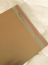 Cellofankuvert, 1 st, varm guldmetallic, med klisterremsa