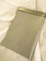 Cellofankuvert, 1 st, silver metallic med klisterremsa