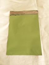 Cellofankuvert, 1 st, med klisterremsa, ljusgrön