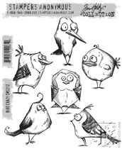 Tim Holtz Stampers Anonymous - Bird Crazy
