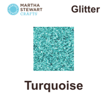 Hobbyfärg glitter Turquoise