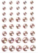 Halvpärlor rosa kristall