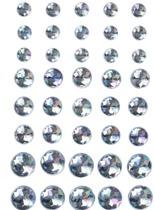Halvpärlor kristall blå