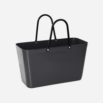 Väska mörkgrå liten