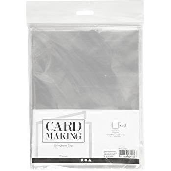 Cellofankuvert 50-pack 15,5x16 -