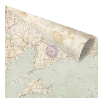 Prima St. Tropez Double-Sided Cardstock 12X12 - French Sands -