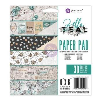 Prima Paper Pad 6X6 30/Pkg - Zella Teal -