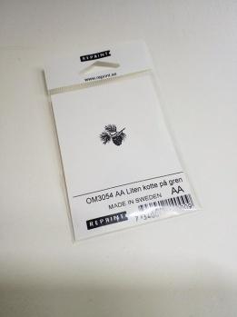 Omonterad gummistämpel OM3054 AA -