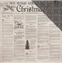Kaisercraft Christmas Edition Double-Sided Cardstock 12X12