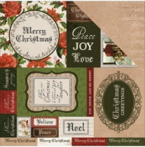 Kaisercraft Letters To Santa Double-Sided Cardstock 12X12