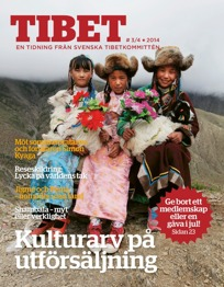 Nummer 3/4 2014 av Tidningen Tibet