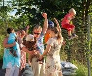 Såå högt upp är ballongerna!!