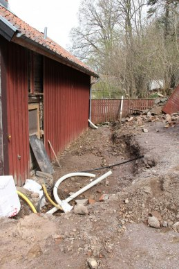 Grundgrop till planerad utbyggnad