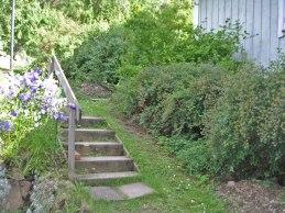 Gamla trappan (juli 2004).