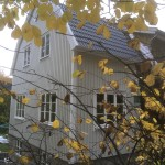 Tillbyggnad, ny fasad/tak Sickla