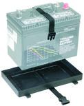 Batteritråg (STOR) med rem