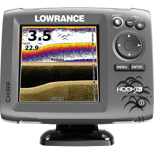 Lowrance Hook-5x Mid/High/DownScan™