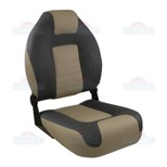 SPRINGFIELD OEM SERIES FOLDING HIGH BACK BOAT SEAT