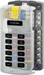 BlueSea Säkringsbox för 12 säkringar