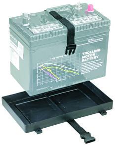 Batteritråg (LITEN) med rem