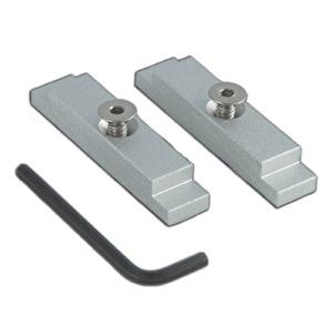 Ändlock för aluminiumskena