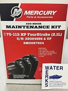 Mercury ServiceKit 75-115HP 2,1L 100h