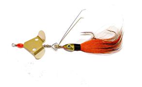 Blue Fox Buzzer 20g - Olika färger - Färg: Orange