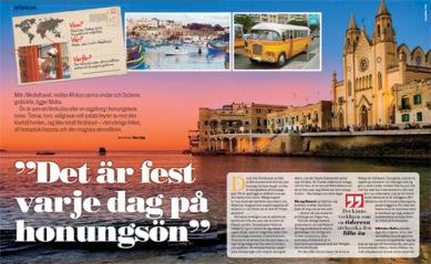Resereportage från Malta >>