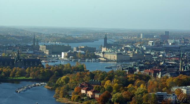 Utsikten från Kaknästornet