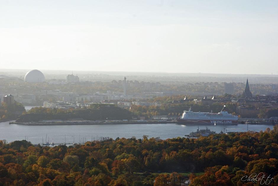 Stockholm, Utsikt från Kaknästornet