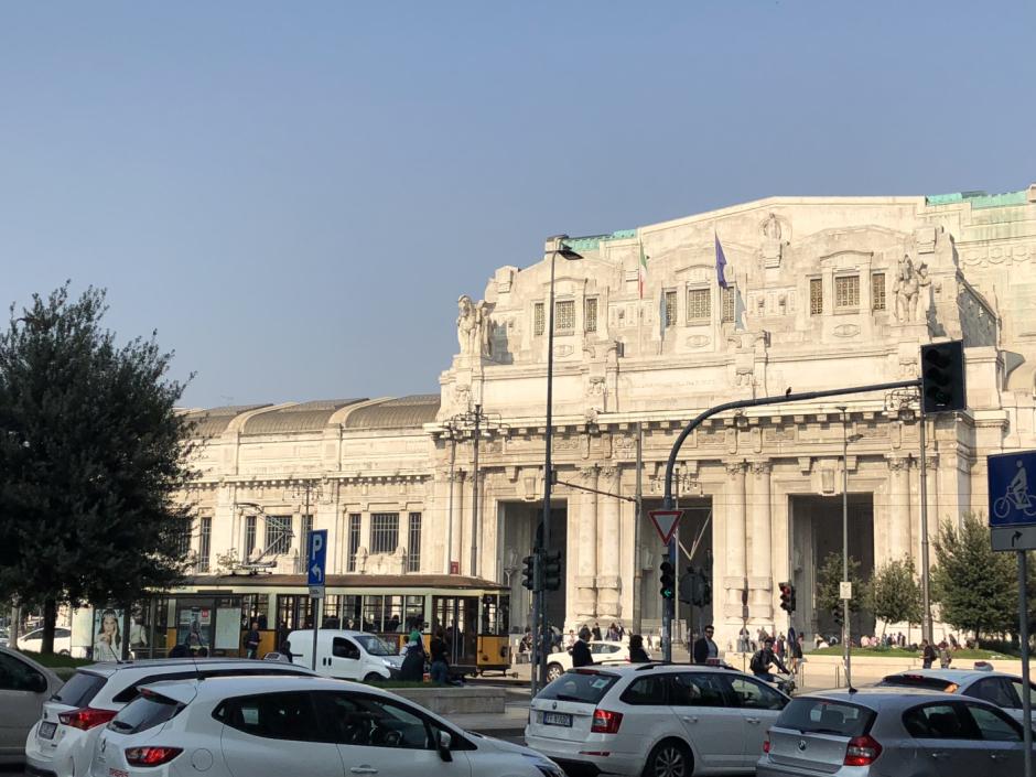 Den vackra centralstationen