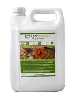 Boracol finn i flera storlekar