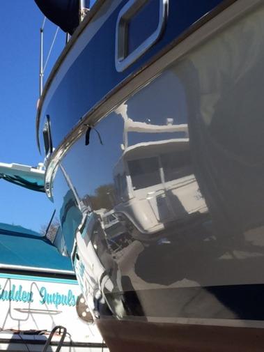 """En båt från 1978 med  """"super glans"""""""